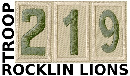 Rocklin Lions Troop 219